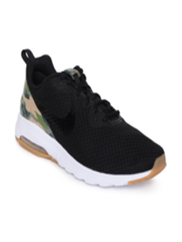 new product 7d41c 576a3 Buy Nike Men Black Textile AIR MAX MOTION LW PREM Running Shoes - -  Footwear for Men
