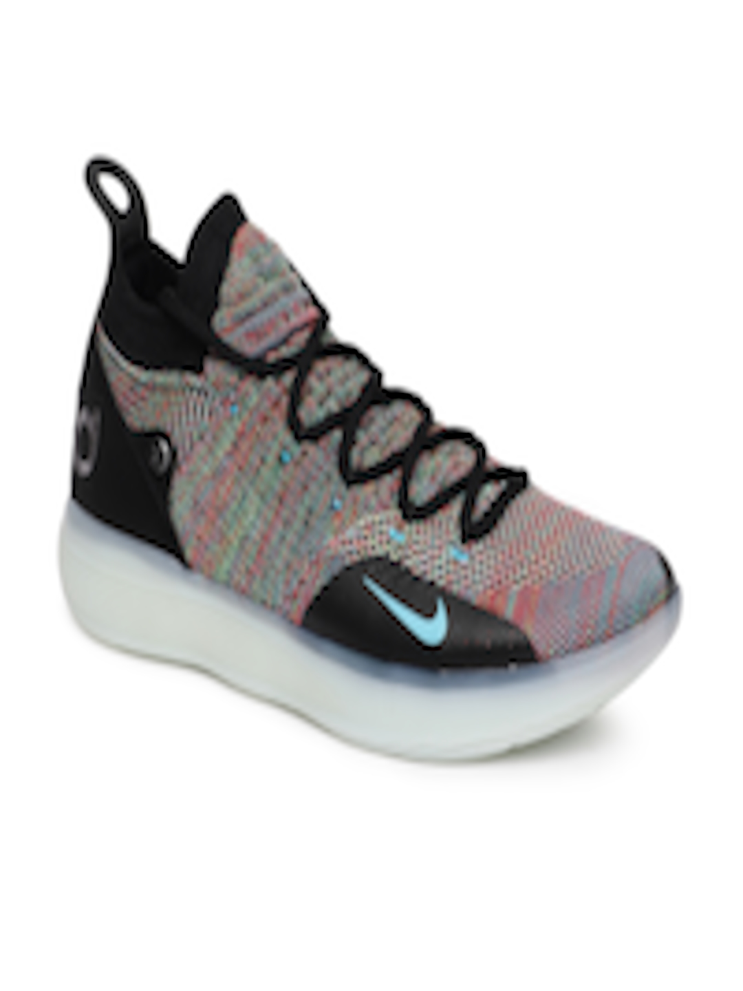 check out a4b5f 0e648 Buy Nike Men Multicoloured ZOOM KD11 Mid Top Basketball Shoes - Sports Shoes  for Men 6677075   Myntra
