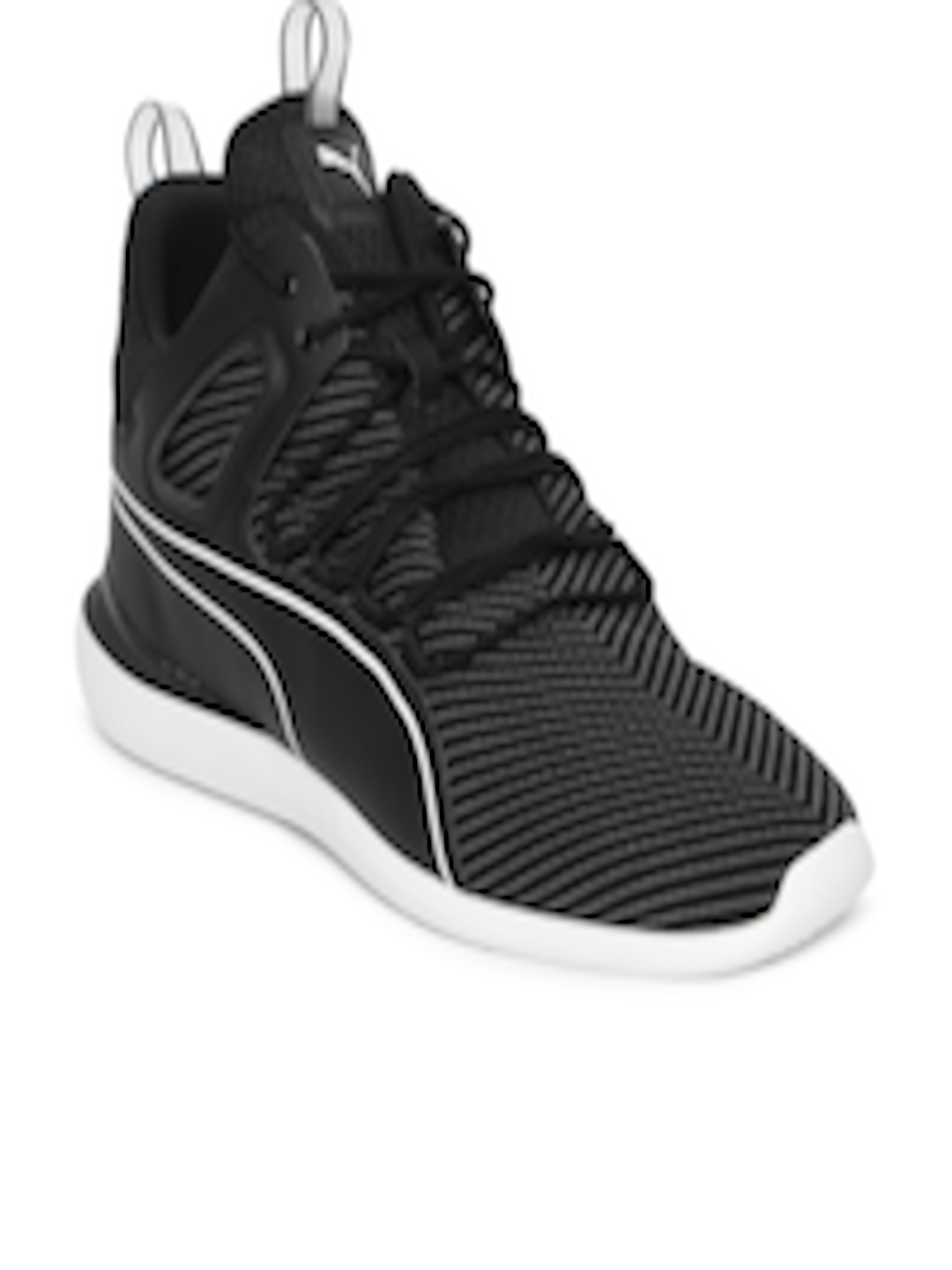 Buy Puma Men Black Scuderia Ferrari Evo Cat Sneakers - Casual Shoes for Men  6697425  5f9bc5a90