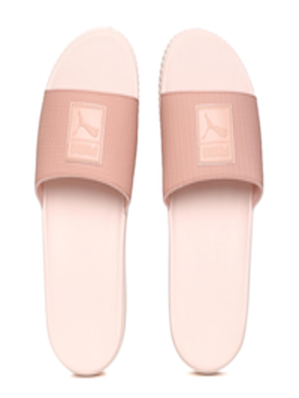 4e9f6df9a66 Buy Puma Women Peach Coloured Platform Slide Wns EP Sliders - Flip Flops  for Women 6698836