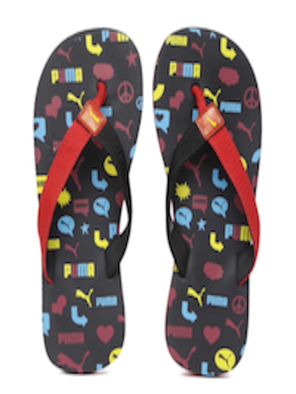 40a0c82dd Buy Puma Kids Red   Black Terry Y1 GU PS IDP Printed Thong Flip Flops - Flip  Flops for Unisex 6700372