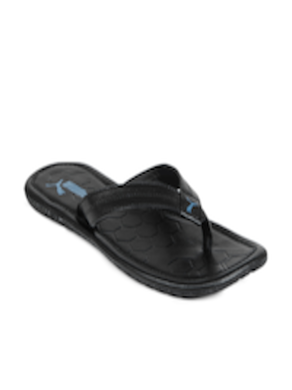 4fd9a732975 Buy Puma Men Black Drifter Road III Ind. Flip Flops - Flip Flops for Men  6700375