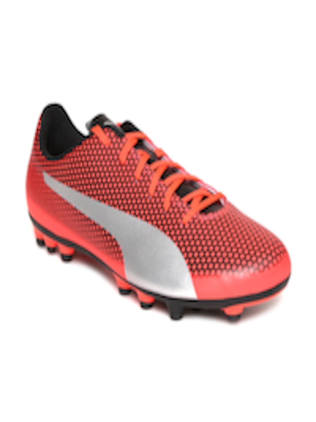 124cc9fcfab Buy Puma Men Red Spirit Artificial Grass Football Shoes - - Footwear for Men