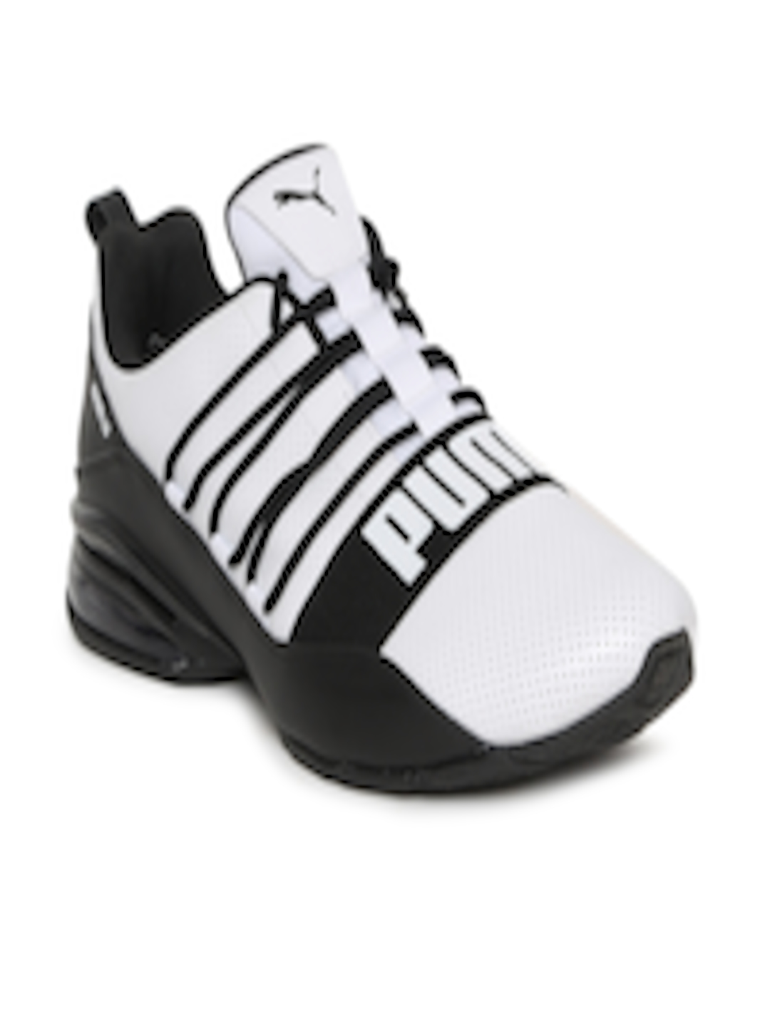 a4a0eeb78119 Buy Puma Men White   Black Cell Regulate SL Sports Running Shoes - Sports  Shoes for Men 6704280