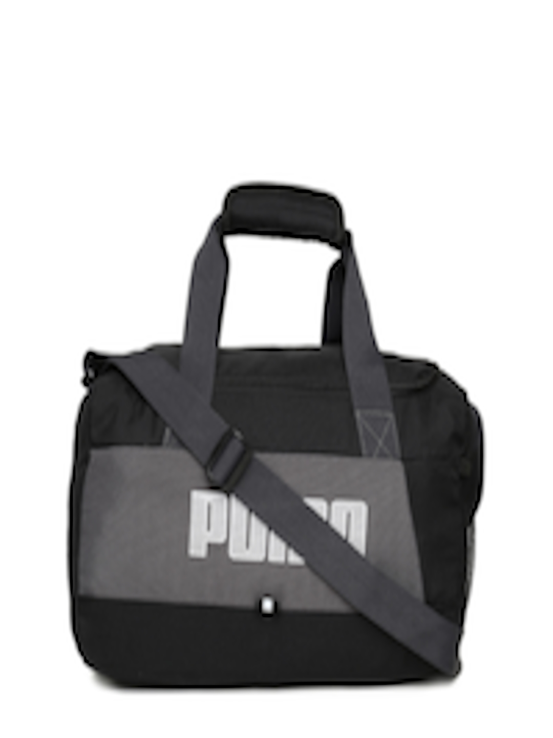 Buy Puma Unisex Black   Grey Fundamentals Sportsbag XS II Duffel Bag - Duffel  Bag for Unisex 6740694  011e7e9a172cf