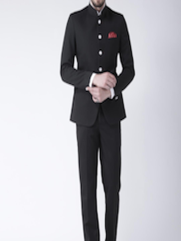 HANGUP Men Black Suit