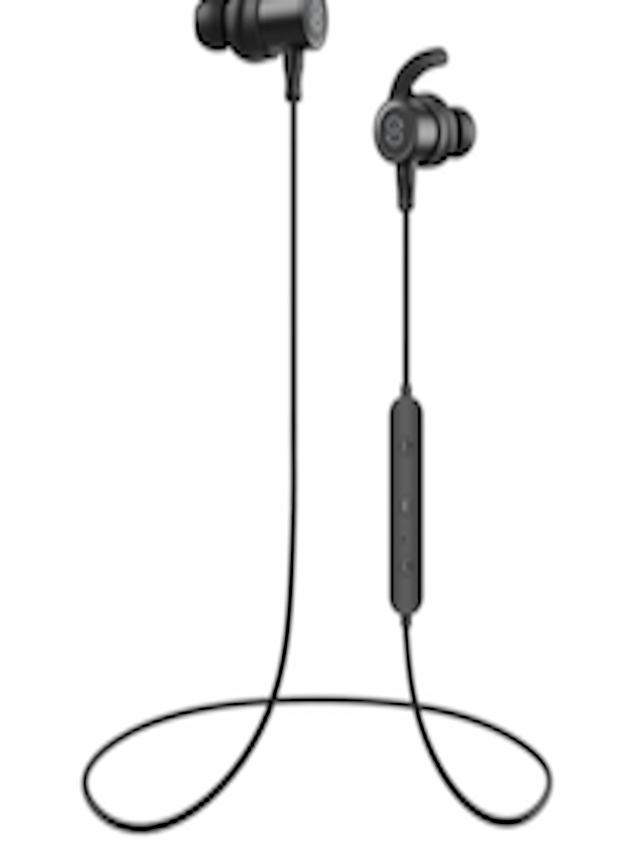 30e1dde386e Buy SoundPEATS Q30 Black Magnetic Wireless IN EAR Bluetooth Headphones With  Mic - Headphones for Unisex 6788533 | Myntra