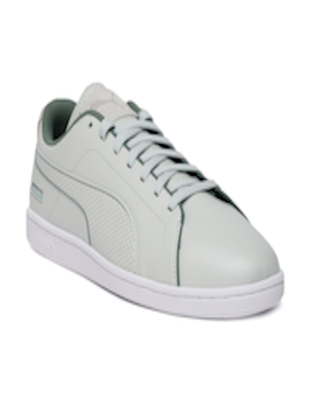 0494a61f5a73 Buy Puma Men Grey Leather MAPM Court Perf Sneakers - Casual Shoes for Men  6815965