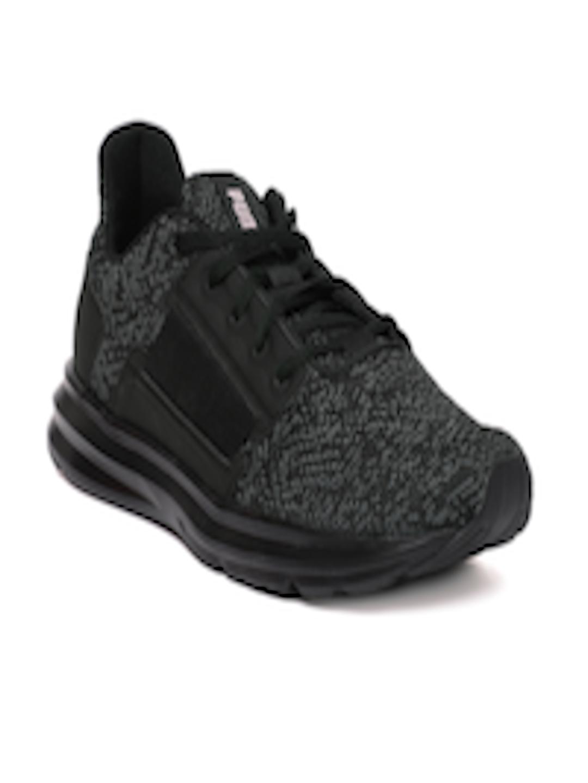 4780219bf8d Buy Puma Women Black Enzo Street Knit Interest Training Shoes - Sports Shoes  for Women 6816049