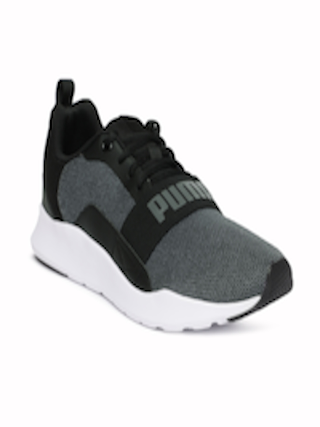 cfec505cf6d Buy Puma Men Black Wired Knit Sneakers - Casual Shoes for Men 6816084