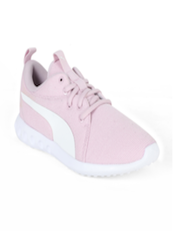 42a58e9543ecd4 Buy Puma Women Pink Carson 2 Knit NM Wns Walking Shoes - Sports ...