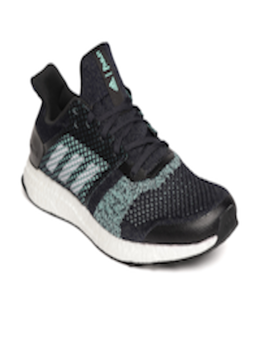 quality design c1c4b 26cad Buy ADIDAS Men Navy Blue   Sea Green Ultraboost ST M Parley Running Shoes - Sports  Shoes for Men 6841653   Myntra