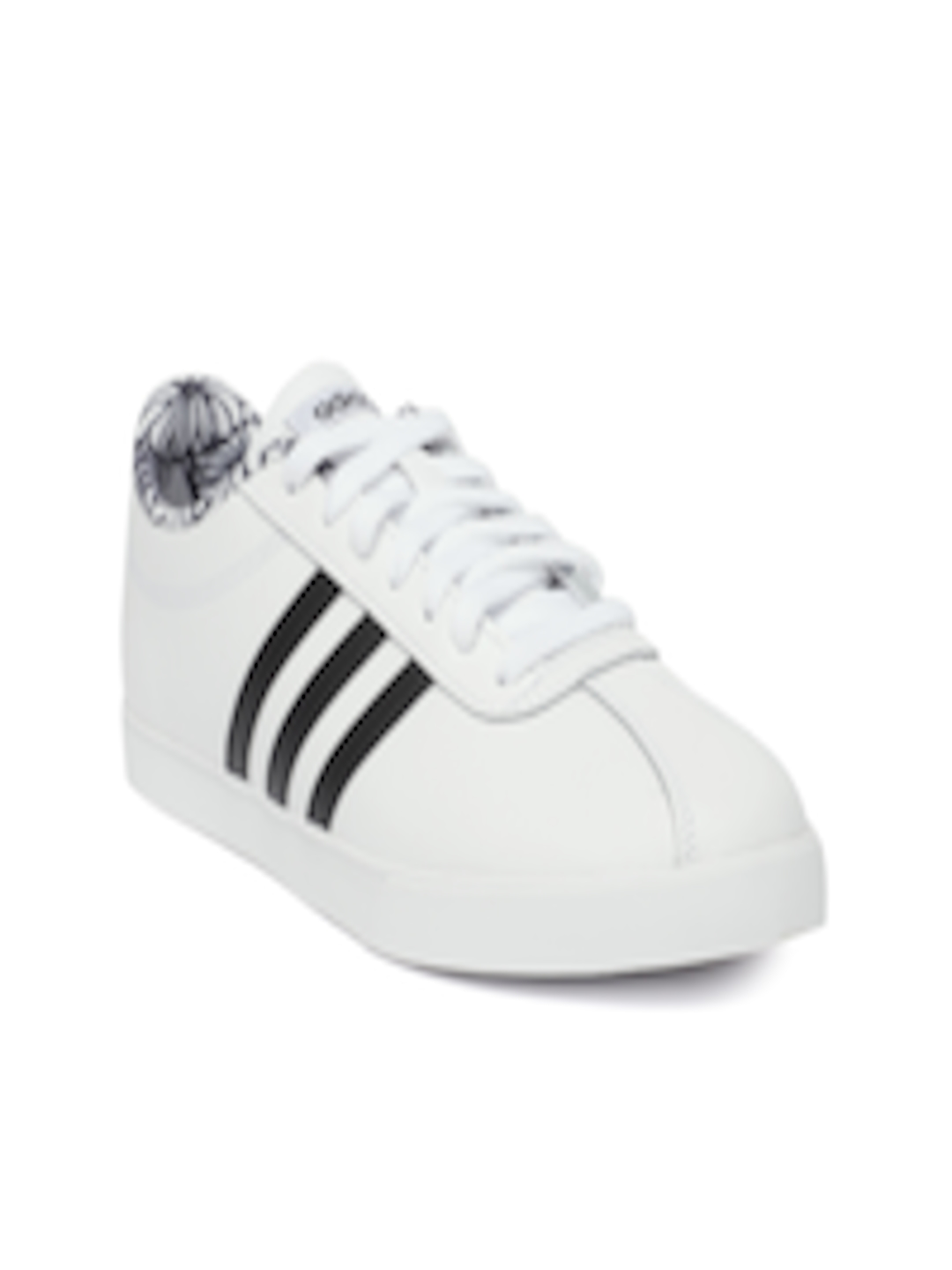 Buy ADIDAS Women White COURTSET Leather Tennis Shoes Footwear for Women