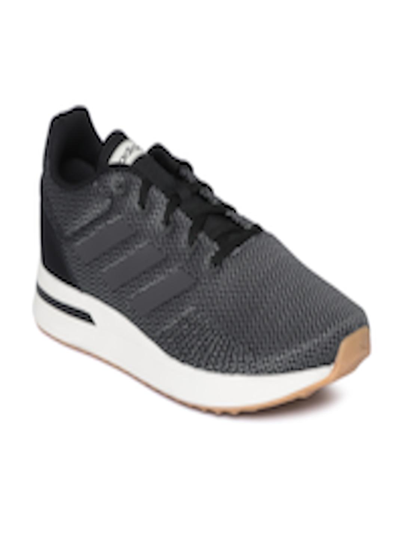 86892d38aaf Buy Adidas Men Black & Grey Run 70S Woven Design Running Shoes - - Footwear  for Men