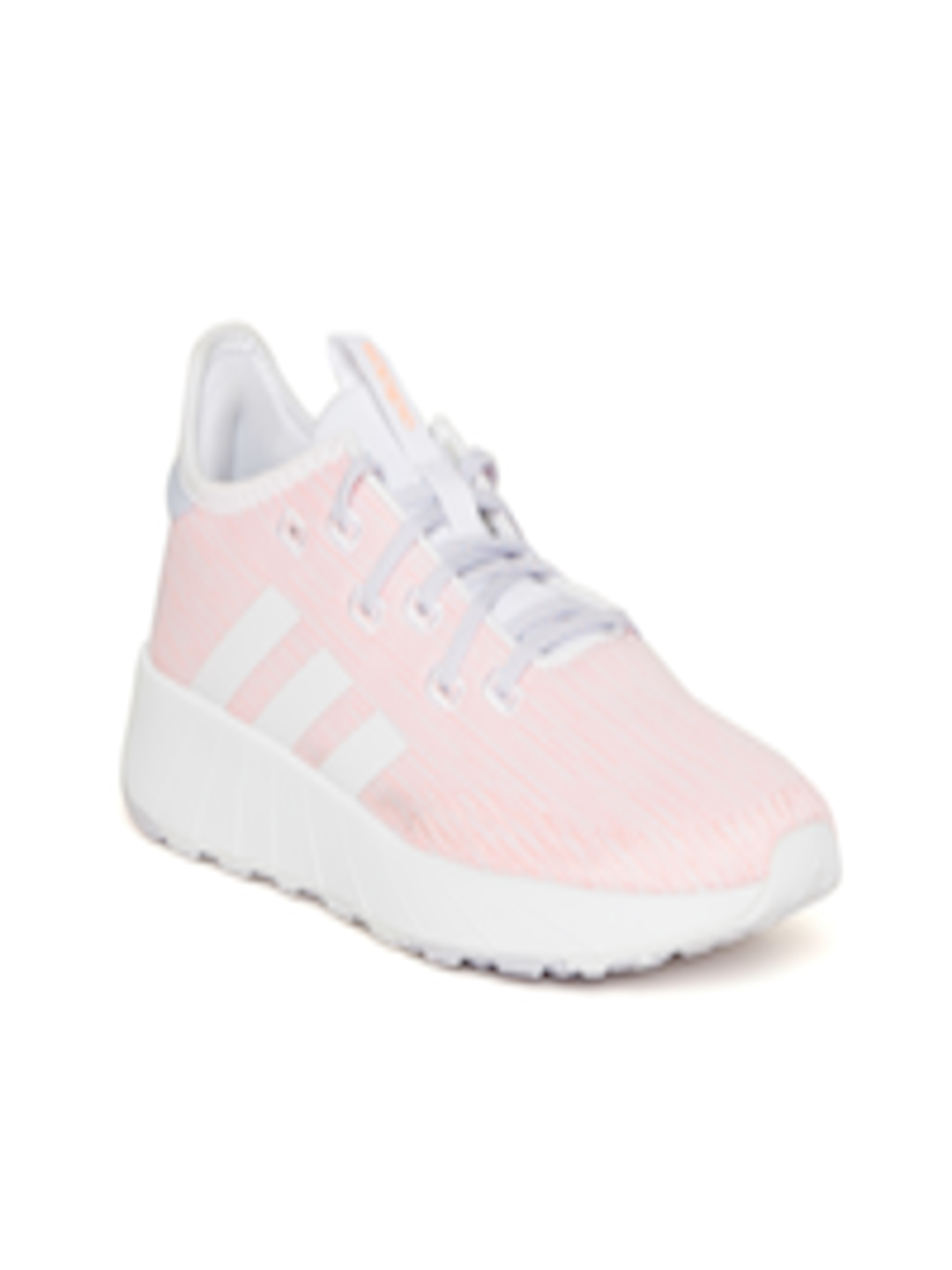 in stock biggest discount vast selection Buy Adidas Women Peach Coloured & White QUESTAR X BYD Running Shoes - -  Footwear for Women