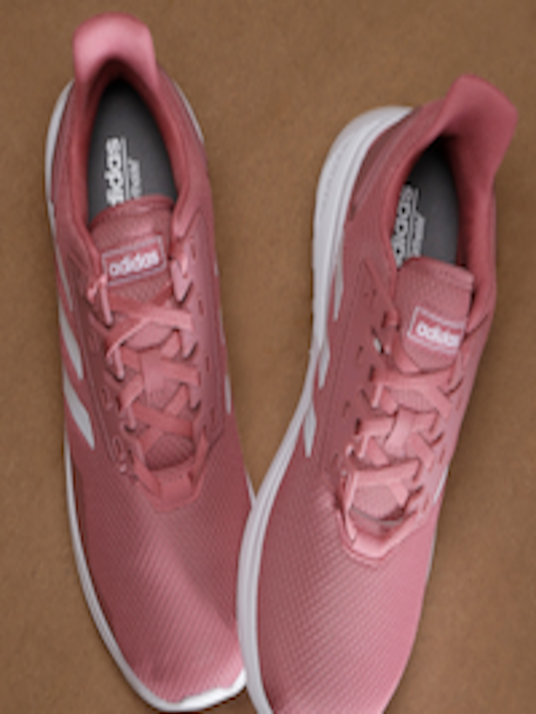 new style d45b0 2eb38 Buy ADIDAS Women Pink Solid Duramo 9 Running Shoes - Sports Shoes for Women  6841847  Myntra