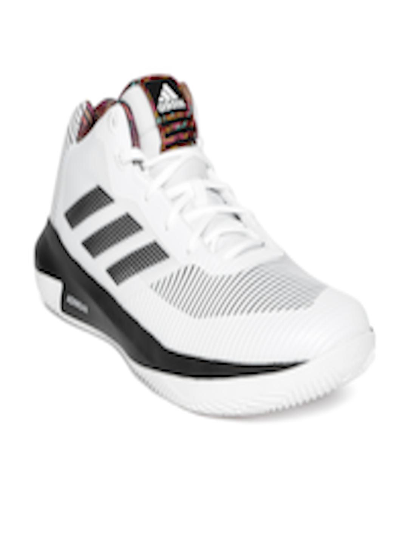 more photos ea43c 6fc2a ADIDAS Men White  Black D Rose Lethality Basketball Shoes