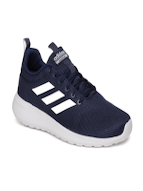 detailed look 76c49 b76d3 Buy ADIDAS Men Blue LITE RACER CLN Running Shoes - - Footwear for Men