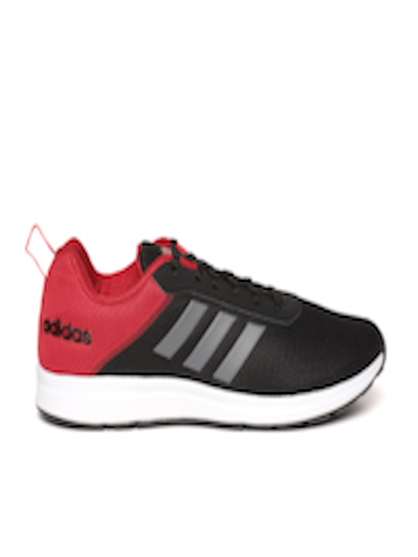 4d2fb8d3a43 Buy ADIDAS Men Black   Red ADISPREE 3 Colourblocked Running Shoes - Sports  Shoes for Men 6842053