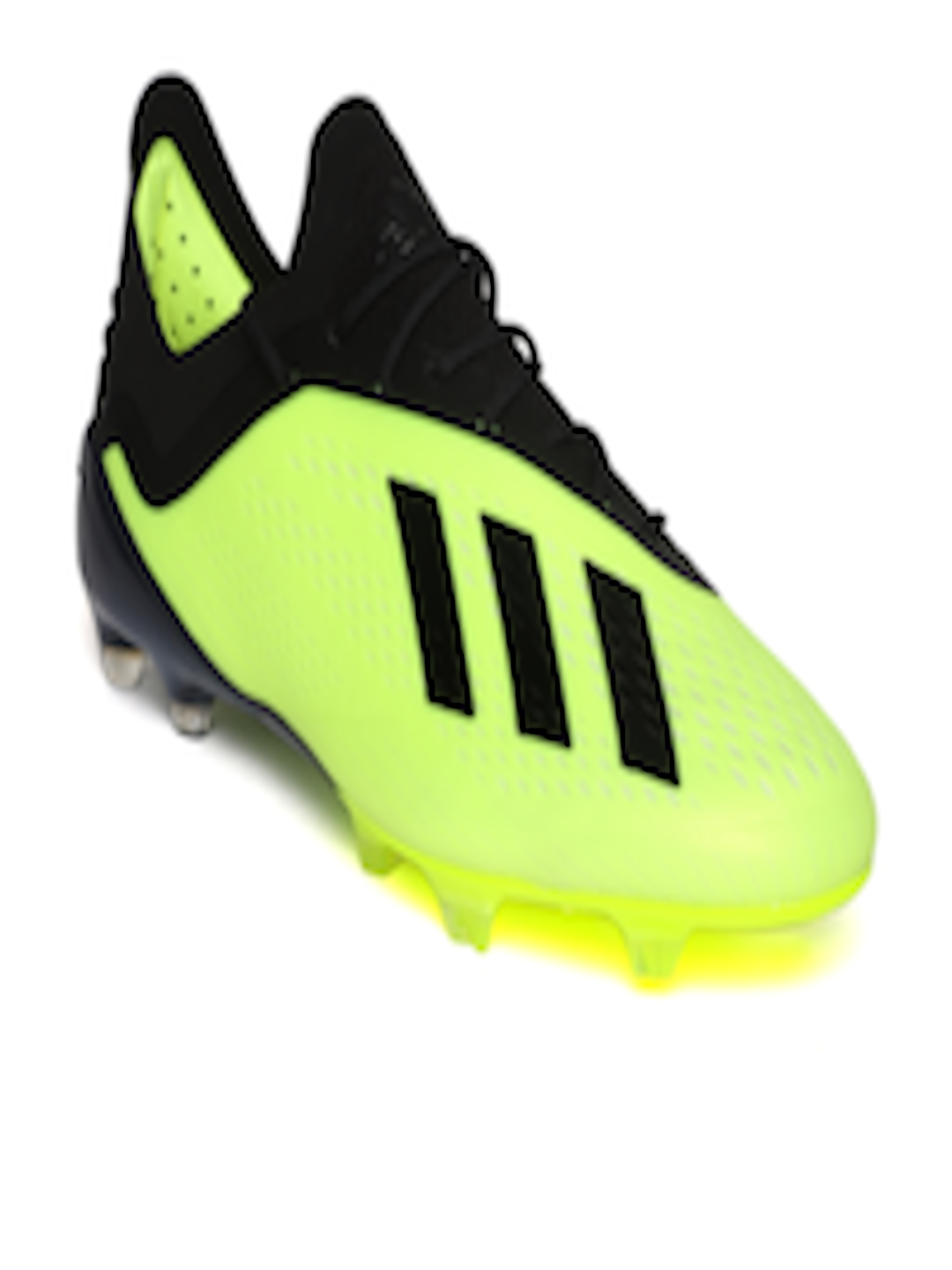 best loved 338a7 07443 Buy ADIDAS Men Florescent Green   Black X 18.1 FG Football Shoes - Sports  Shoes for Men 6842130   Myntra