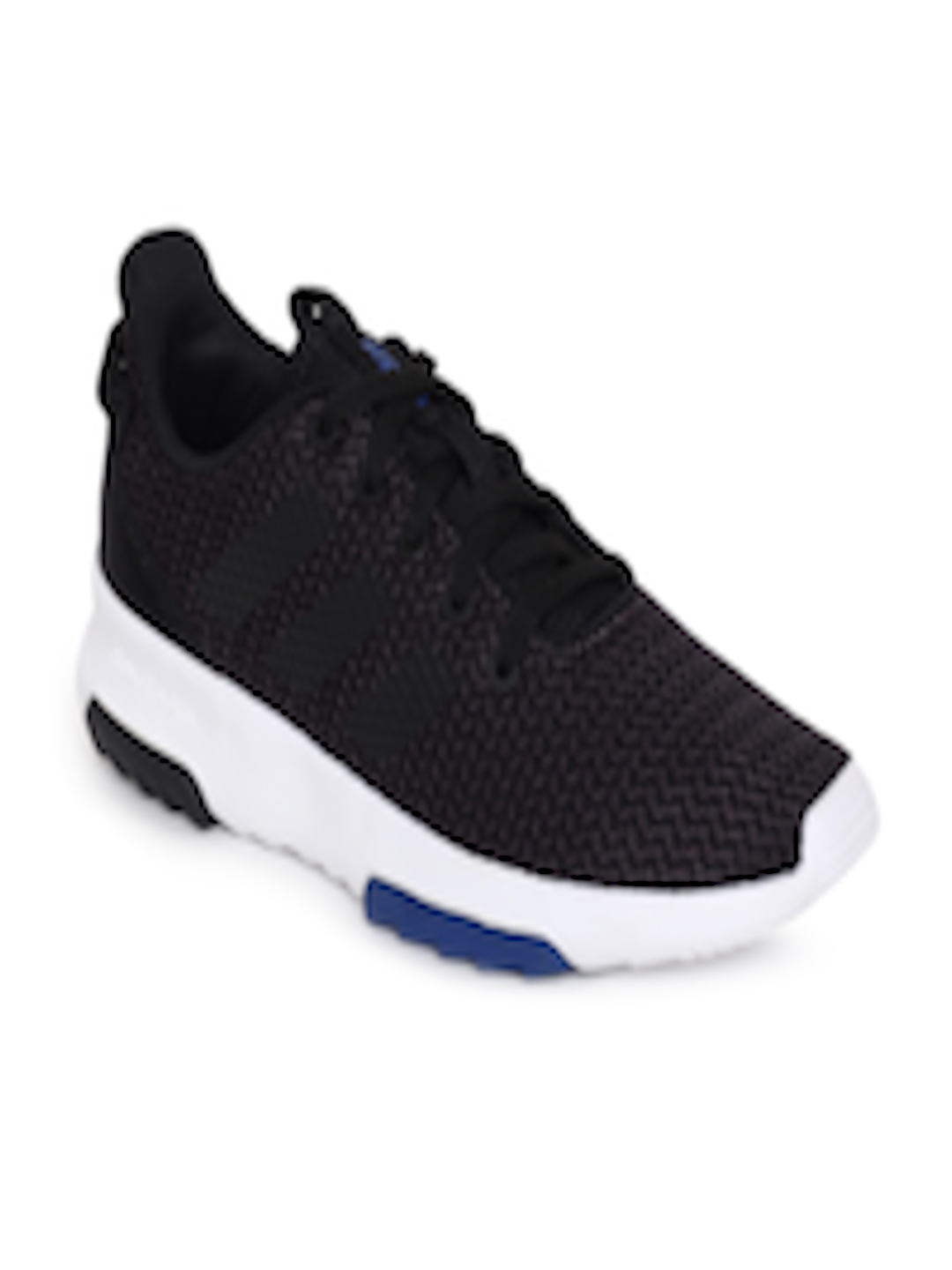 bafd1cb76be6c8 Buy ADIDAS Kids Black Solid CF RACER TR K Running Shoes - Sports Shoes for  Unisex 6842156
