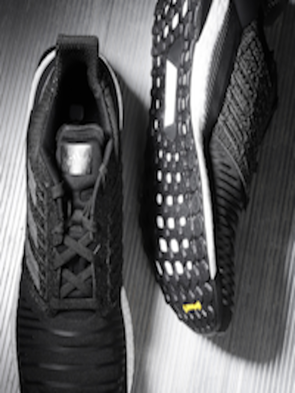 2570d077f Buy ADIDAS Men Black Solar Boost Striped Running Shoes - Sports ...