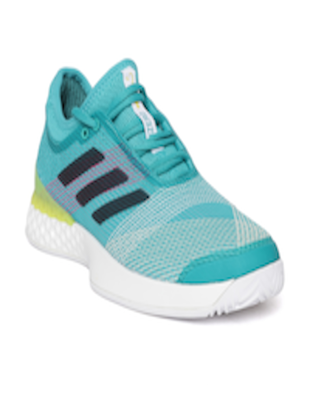 f2ed18a92 Buy ADIDAS Men Green & Off White ADIZERO Ubersonic 3 Tennis Shoes - Sports  Shoes for Men 6842234 | Myntra