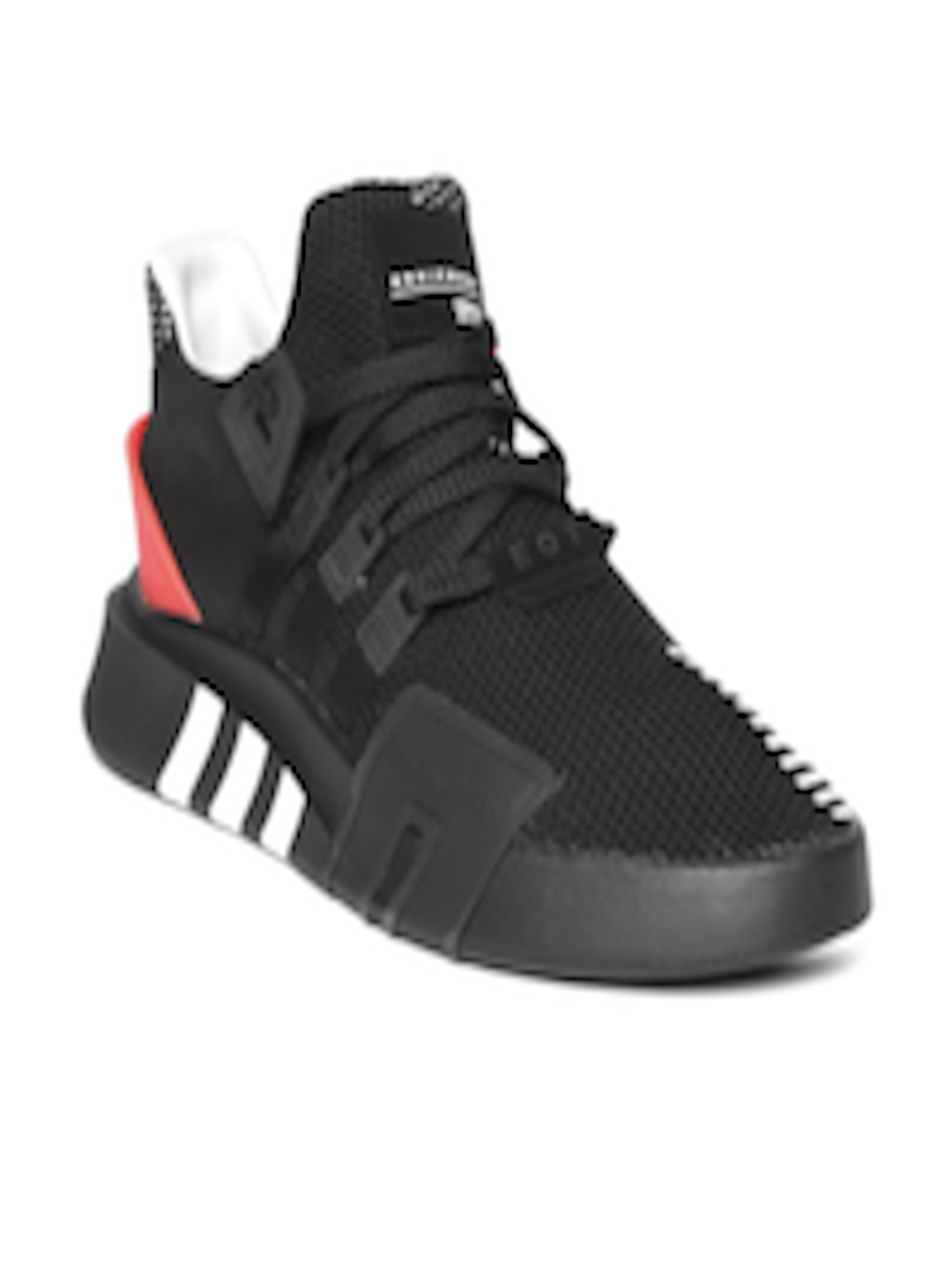 promo code ad2eb 1a2ee Buy ADIDAS Originals Men Black EQT BASK ADV Sneakers - - Footwear for Men