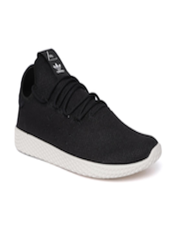 latest discount authentic shop Buy Adidas Originals Women Black Pharrell Williams Tennis HU Sneakers - -  Footwear for Women