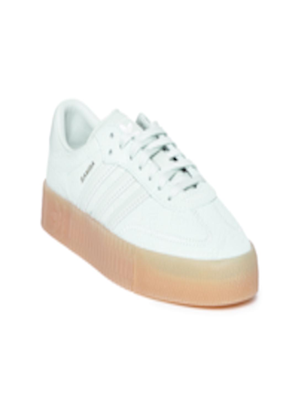 26ec5c65ac2 Buy Adidas Originals Women Mint Green Snake Skin Textured Samba Rose  Sneakers - - Footwear for Women