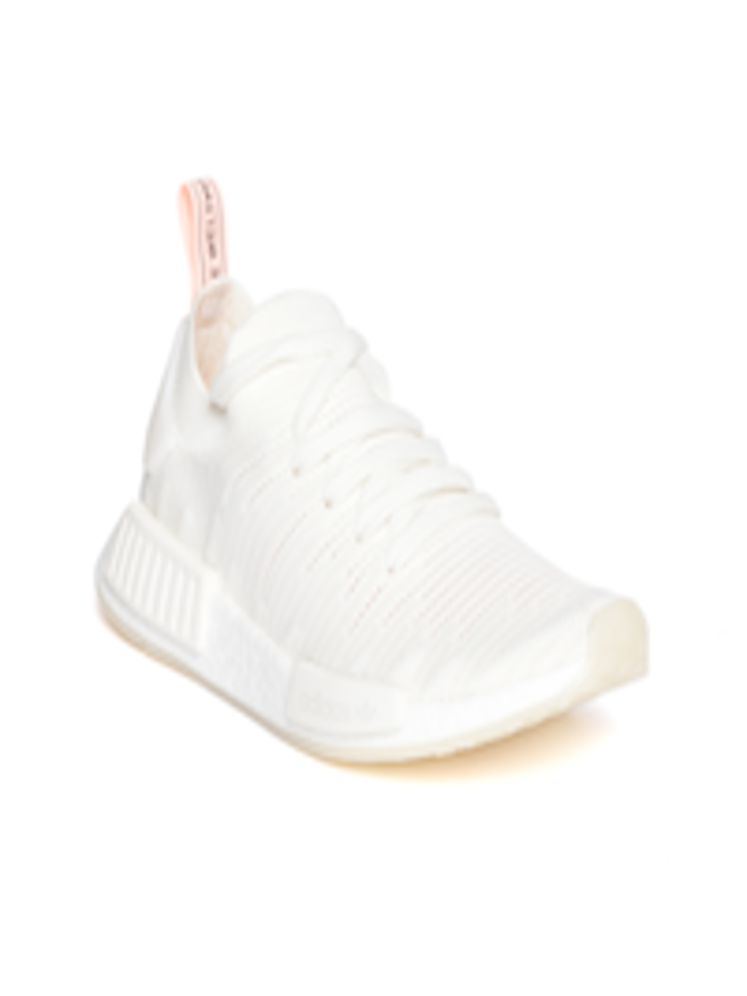 another chance 178a6 3abc0 Buy ADIDAS Originals Women Off White NMDR1 STLT Primeknit Sneakers -  Casual Shoes for Women 6842436  Myntra