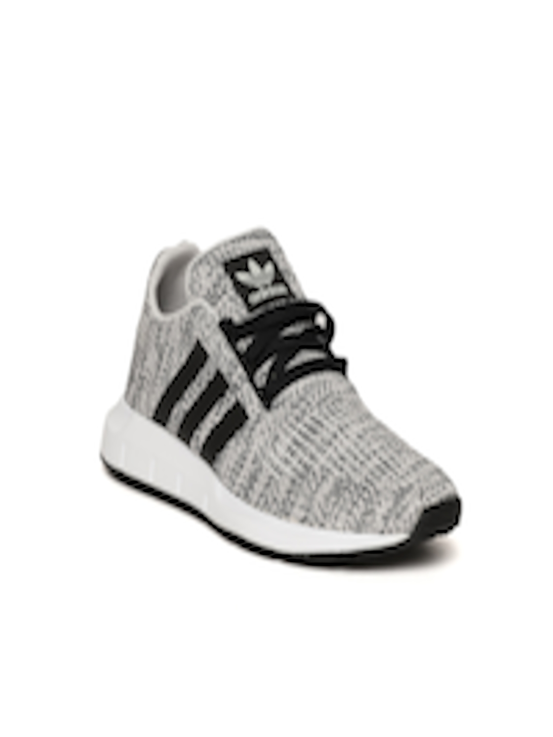 5daf724cdc7 Buy Adidas Originals Kids Grey   Black Swift Run J Patterned Sneakers - Casual  Shoes for Unisex 6842459