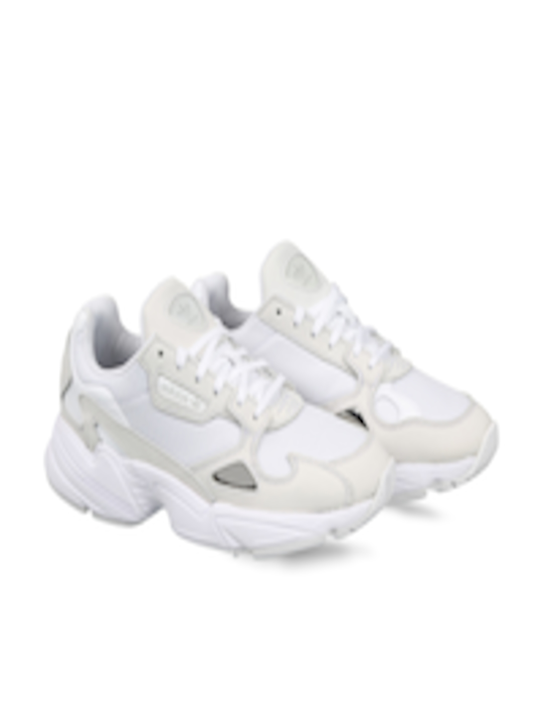 bf4c4aa71070 Buy ADIDAS Originals Women White Falcon Sneakers - Casual Shoes for ...