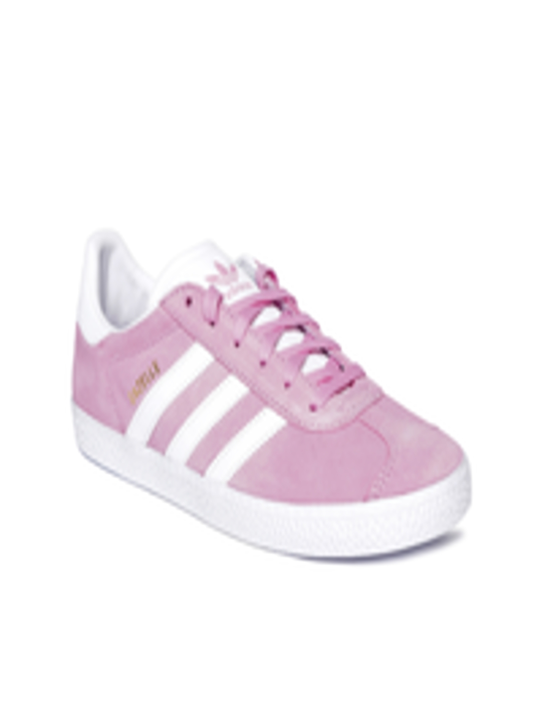 d3f9da1832 Buy ADIDAS Originals Kids Pink Gazelle Suede Sneakers - Casual Shoes for  Unisex 6842565