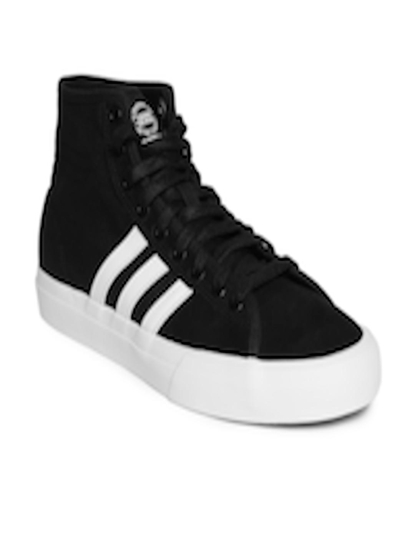 Buy ADIDAS Originals Men Black Matchcourt High RX Skateboarding Shoes -  Casual Shoes for Men 6842567  8694bec8a