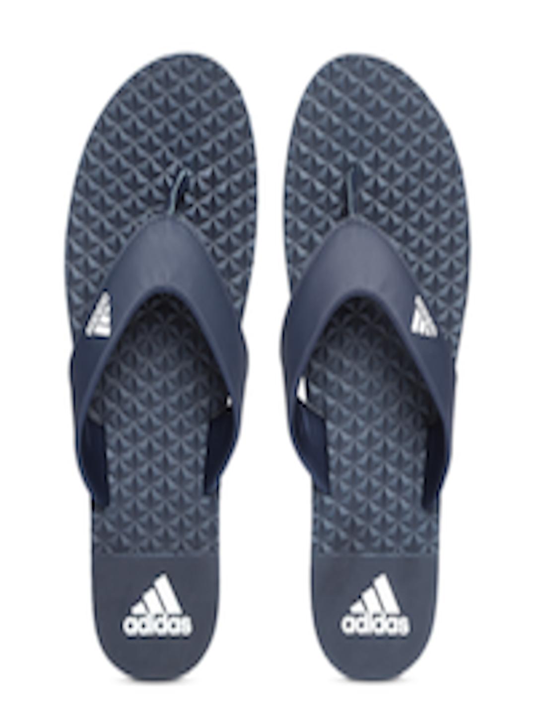 ea8566bb43f Buy ADIDAS Men Navy Blue BISE Solid Thong Flip Flops - Flip Flops ...