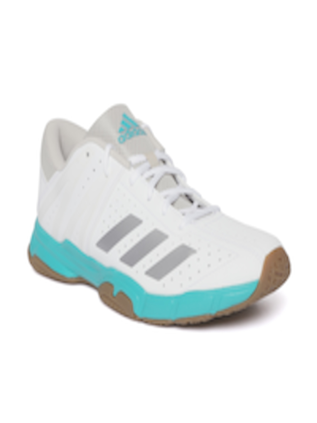 Buy ADIDAS Unisex White Badminton Shoes - Sports Shoes for Unisex 6844027  c403ff352