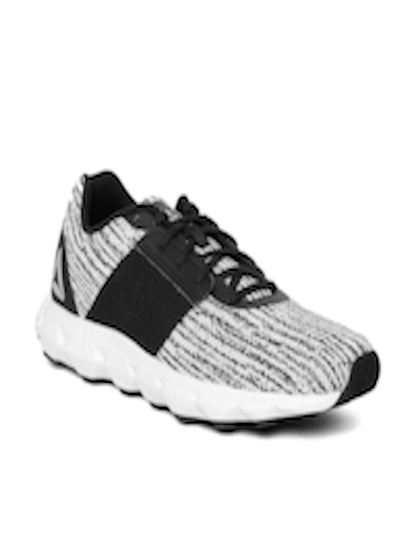 592f76ee2b1 Buy Reebok Men White   Black City Scape LP Running Shoes - Sports ...