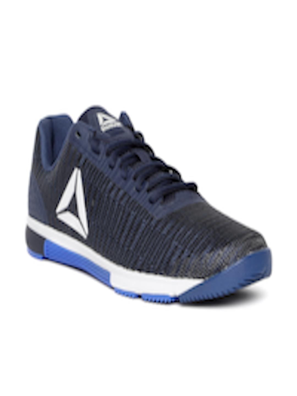 Buy Reebok Men Navy Speed Flexweave Training Shoes - Sports Shoes for Men  6916891  ffac9651a