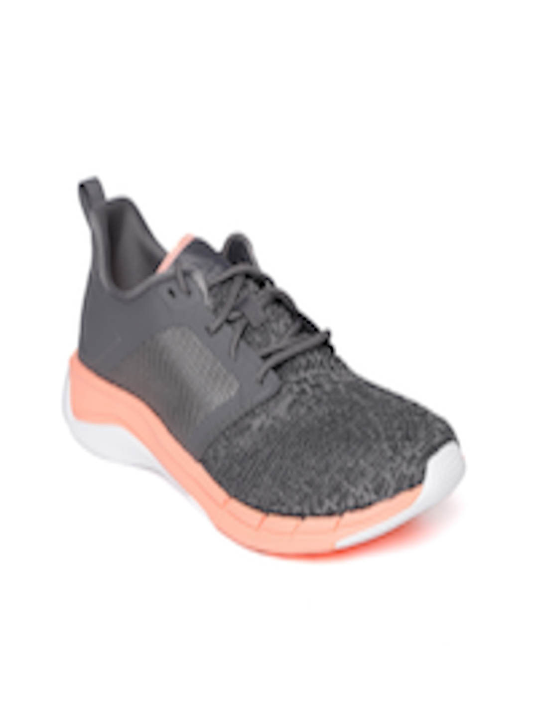 top-rated quality latest fashion attractive & durable Buy Reebok Women Charcoal Grey PRINT RUN 3.0 Running Shoes - - Footwear for  Women
