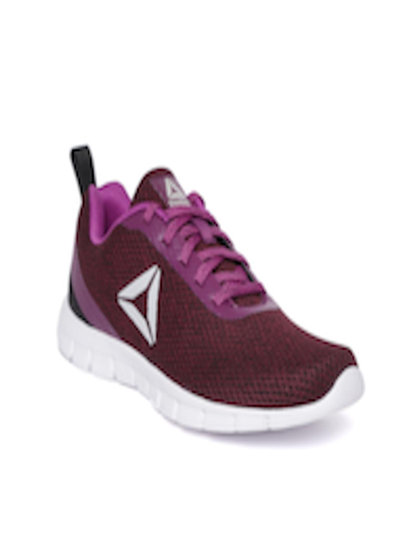 13bc4fe6331 Buy Reebok Women Burgundy Zoom Runner LP Running Shoes - Sports Shoes for  Women 6916947