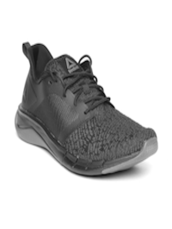 5dc720d052b3 Buy Reebok Men Black   Grey Print Run 3.0 Patterned Running Shoes - Sports  Shoes for Men 6917101