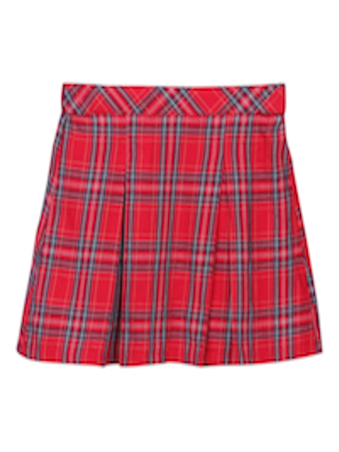 4bd5f97ad8 Buy Beebay Girls Red & Blue Checked Skirt - Skirts for Girls 7028818 |  Myntra