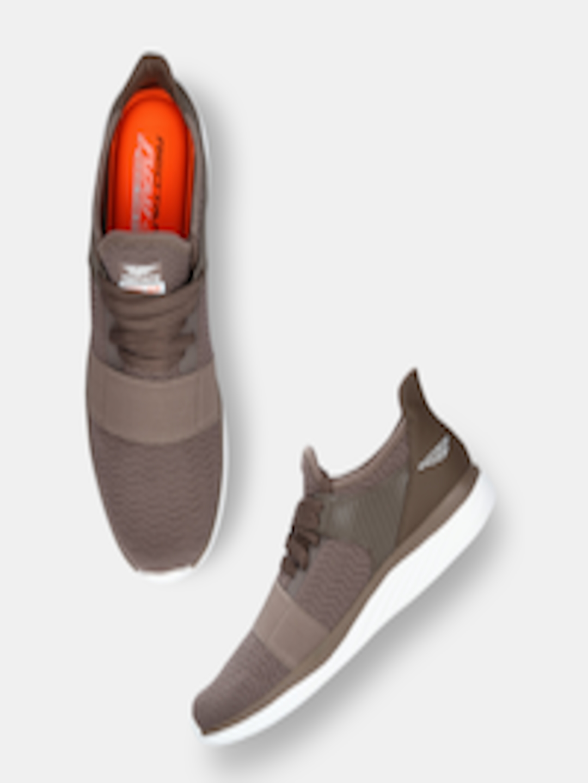 Men Taupe Walking Shoes