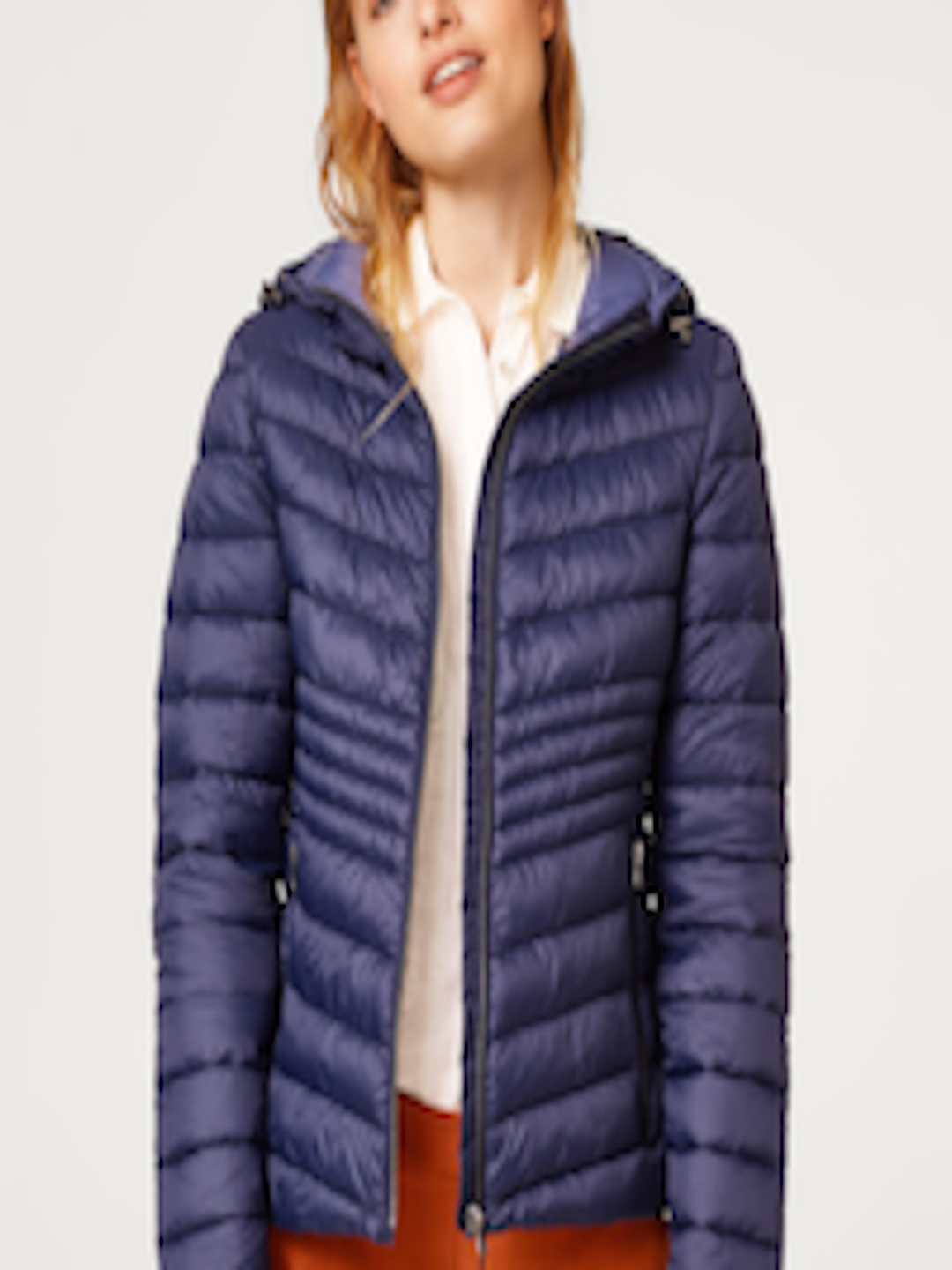 ESPRIT BLUE quilted jacket with 3M® Thinsulate® padding