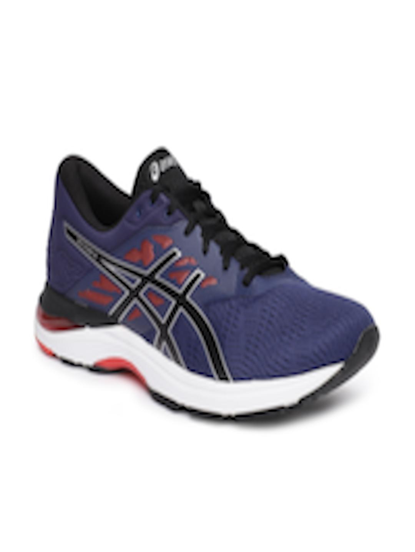 88ae89717b7 Buy ASICS Men Blue GEL FLUX 5 Running Shoes - - Footwear for Men