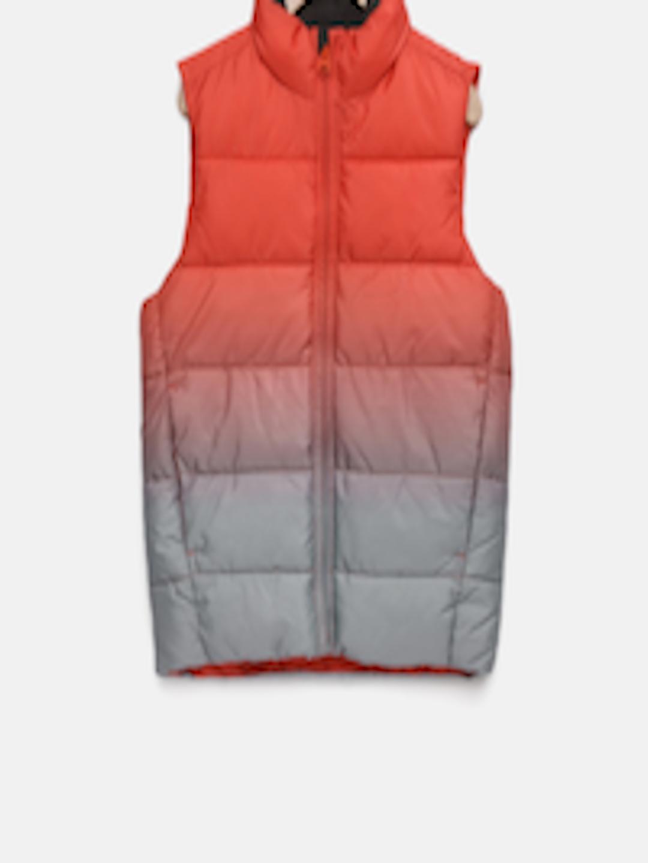 ba55804018a8dd Buy GAP Boys  Orange   Grey ColdControl Max Ombre Puffer Vest - Jackets for  Boys 7114765