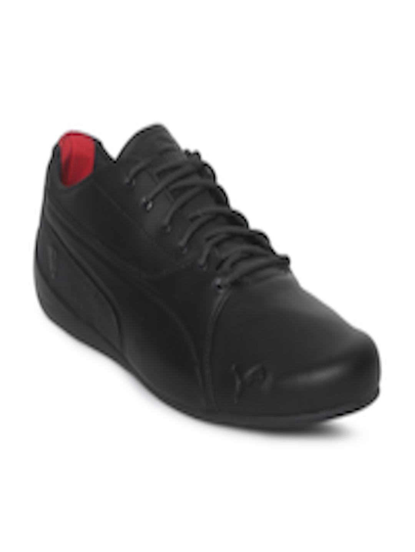 5a0e4035fa8 Buy Puma Men Black SF Drift Cat 7 Leather Sneakers - Casual Shoes for Men  7141703