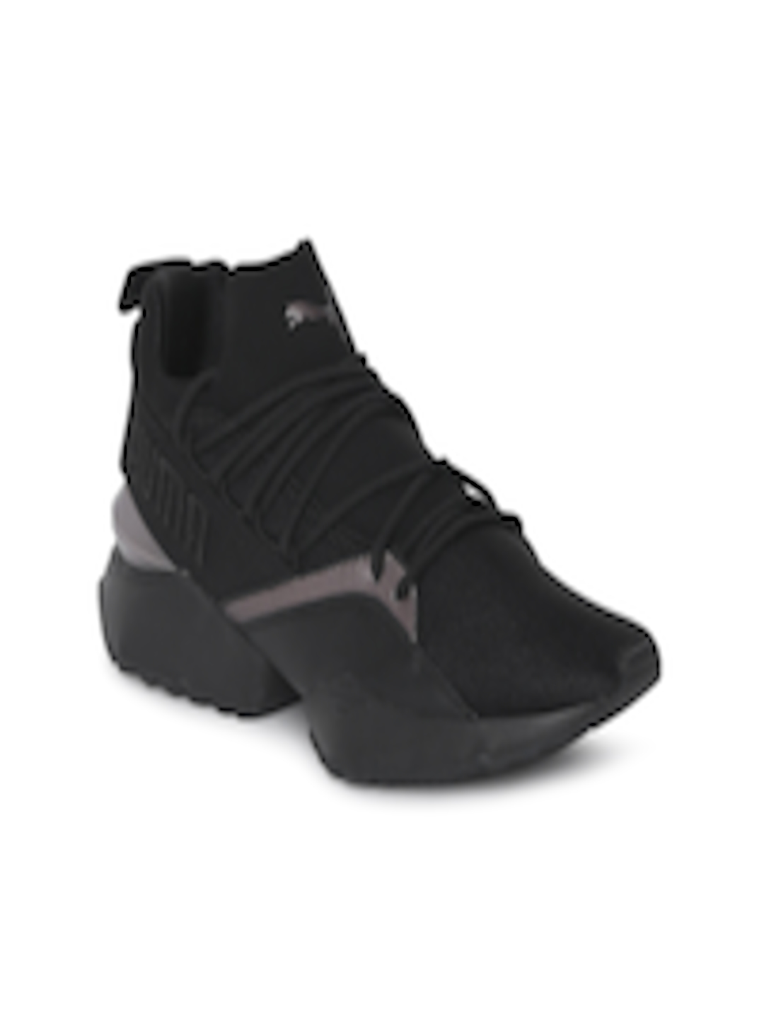 ff64ed2ea2d3 Buy Puma Women Black Muse Maia Luxe Sneakers - Casual Shoes for Women  7141713