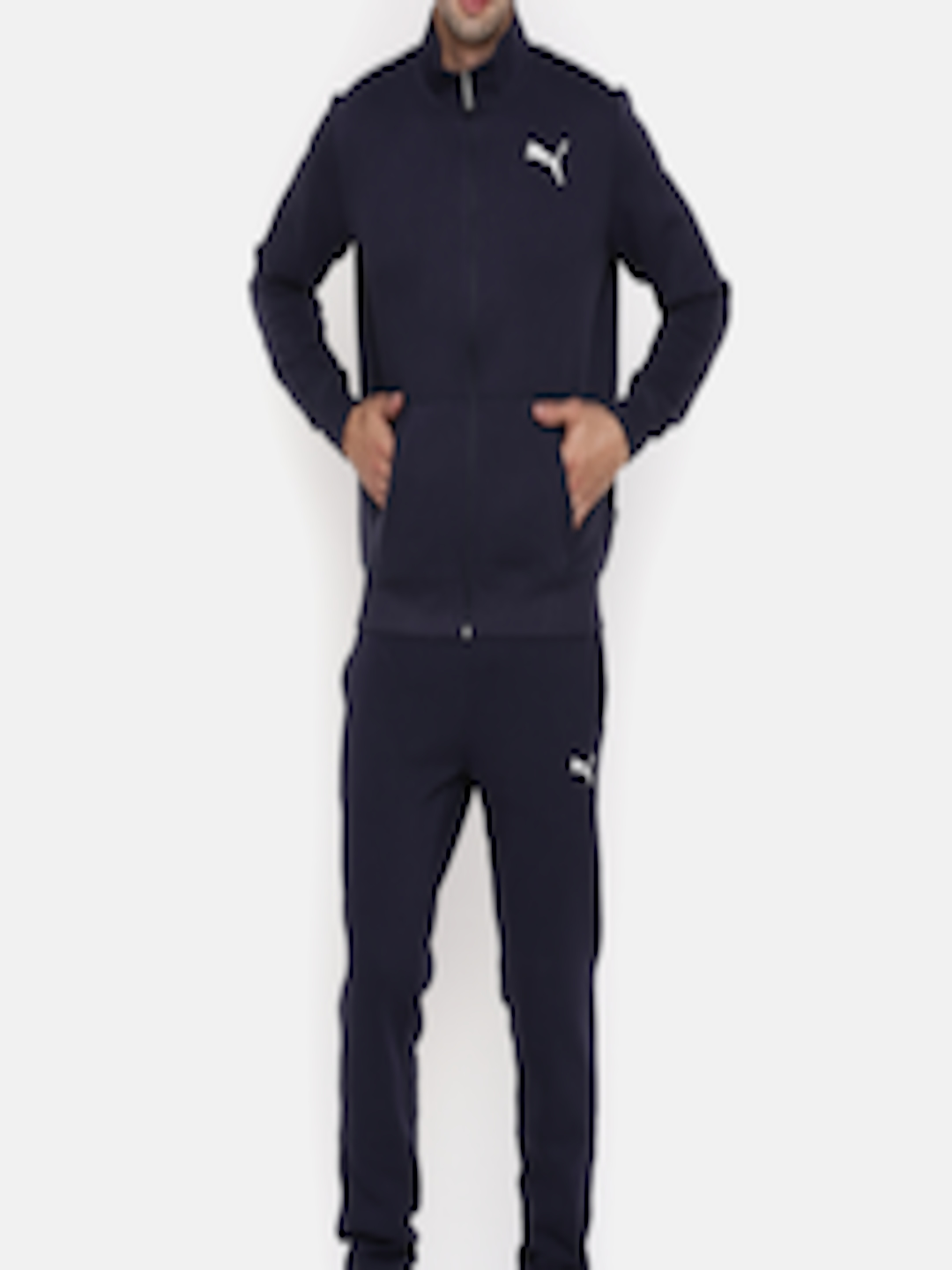 a0a946b393f2 Buy Puma Navy Style Good Sweat Suit Cl Track Suit - Tracksuits for Men  7143779